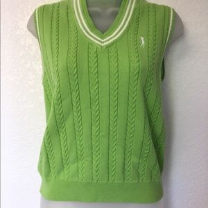 IZOD Ladies Golf Sweater Vest